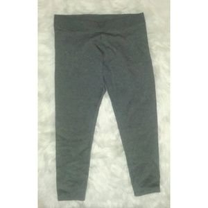 Faded Glory Gray Sweater Leggings
